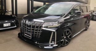 2019 Wald EXECUTIVE LINE Bodykit Tuning Toyota Alphard Header 310x165 Toyota Century mit Bodykit vom Tuner Wald International