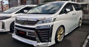 2019 Wald EXECUTIVE LINE Bodykit Tuning Toyota Vellfire Header 310x165 Toyota Century mit Bodykit vom Tuner Wald International