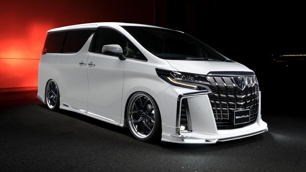 2019 Wald International EXECUTIVE LINE Toyota Alphard Tuning Bodykit 11 2019 Wald International EXECUTIVE LINE Toyota Alphard