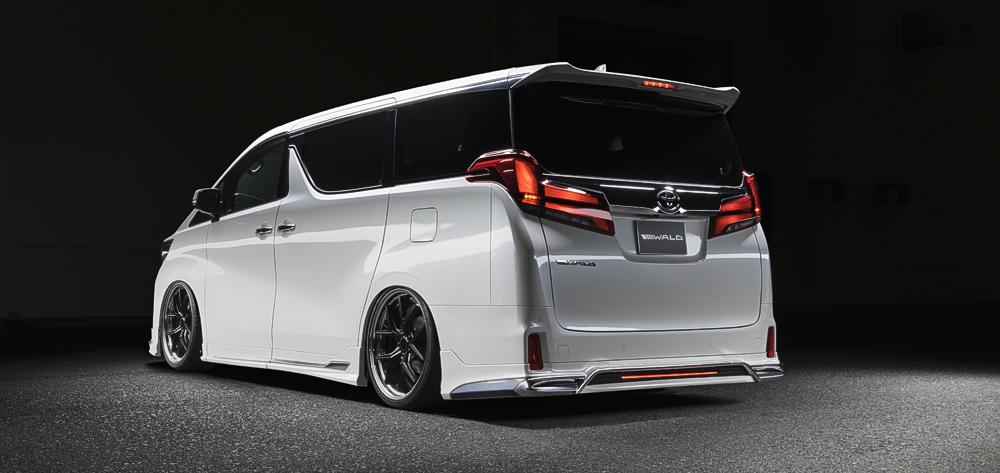 2019 Wald International EXECUTIVE LINE Toyota Alphard Tuning Bodykit 16 2019 Wald International EXECUTIVE LINE Toyota Alphard