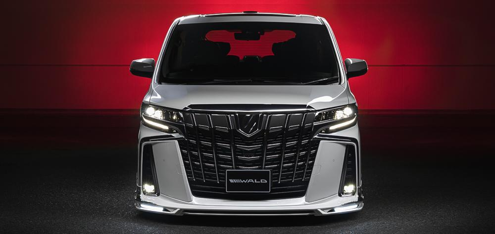2019 Wald International EXECUTIVE LINE Toyota Alphard Tuning Bodykit 18 2019 Wald International EXECUTIVE LINE Toyota Alphard