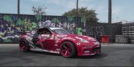 750 PS Nissan 370Z V8 Driftcar Widebody Kit Tuning 2 190x95 Video: 750 PS Nissan 370Z V8 Driftcar mit Widebody Kit