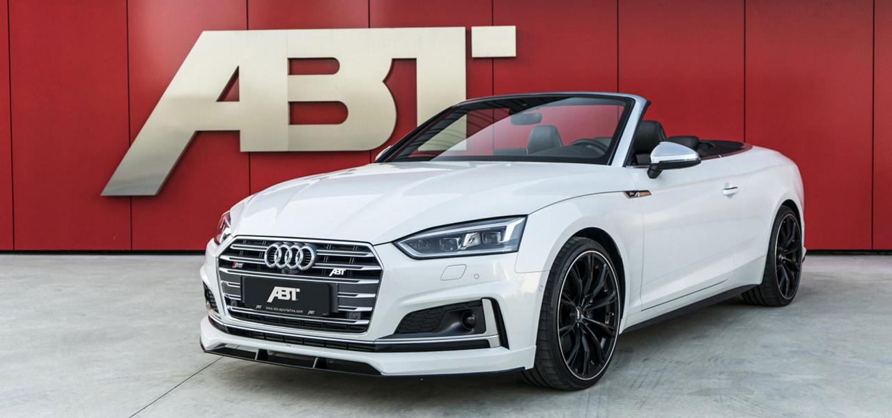 ABT Sportsline Audi S5 Cabrio 2017 Tuning ABT Sportsline Bodykit am 2017 Audi A5 (S5) Cabrio/Coupe (F5)
