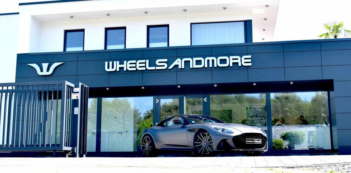 Aston Martin DBS Superleggera 22 Zoll Tuning Wheelsandmore 13 830 PS Aston Martin DBS Superleggera auf 22 Zöllern