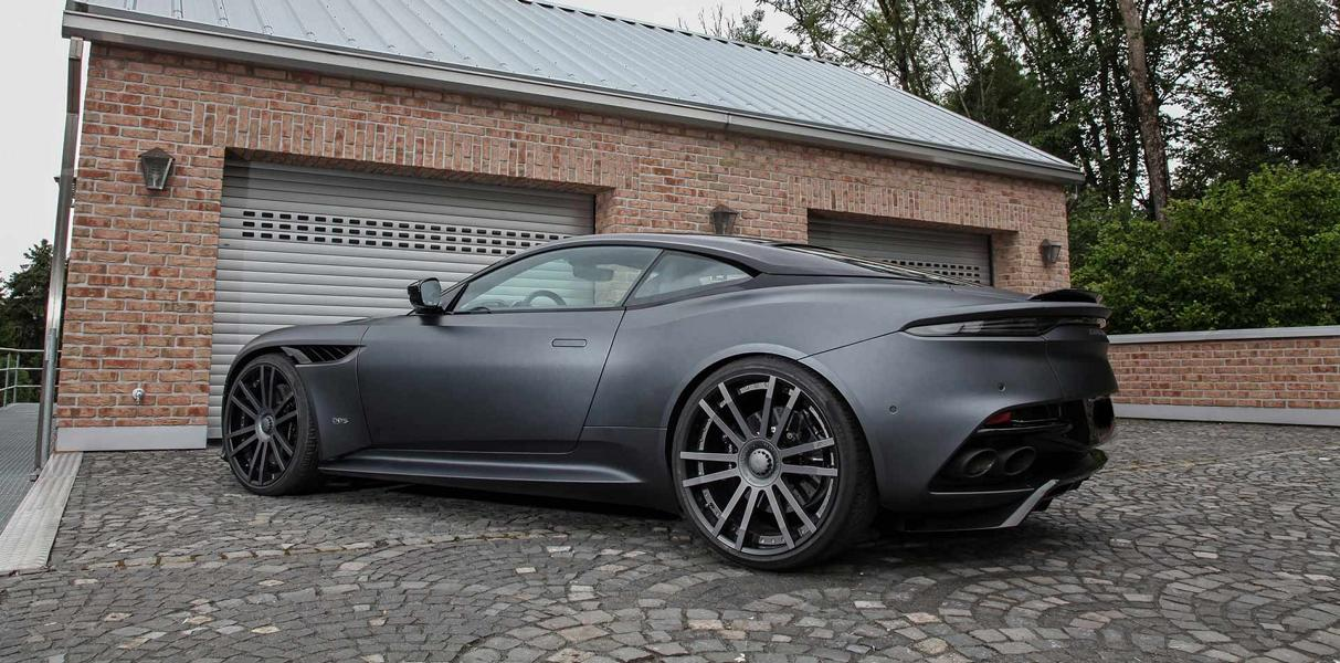 Aston Martin DBS Superleggera 22 Zoll Tuning Wheelsandmore 14 830 PS Aston Martin DBS Superleggera auf 22 Zöllern