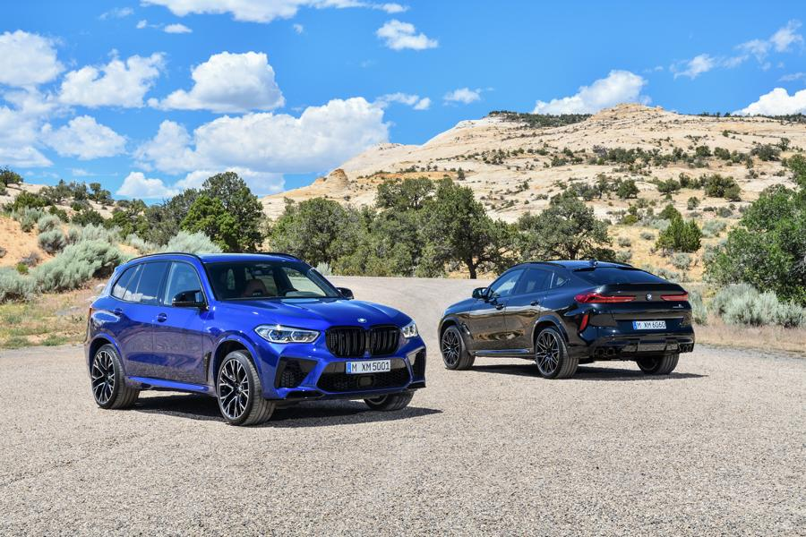 BMW X5 M X6 M Competition F95 F96 1 Der neue BMW X5 M & X6 M Competition (F95 & F96)