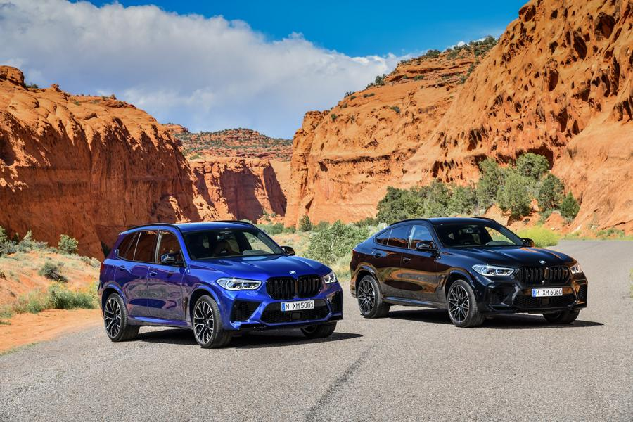 BMW X5 M X6 M Competition F95 F96 6 Der neue BMW X5 M & X6 M Competition (F95 & F96)