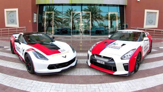 Corvette C7 Nissan GT R ambulance Dubai 2 e1570521363489 emergency vehicle and ambulance how they are made!
