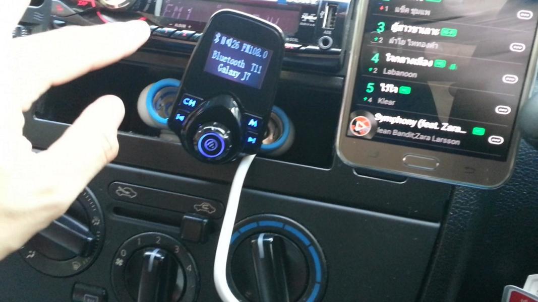 FM Transmitter Antennentuner DAB Einbau Tuning 2 Low Budget Technik   der FM Transmitter im Fahrzeug!