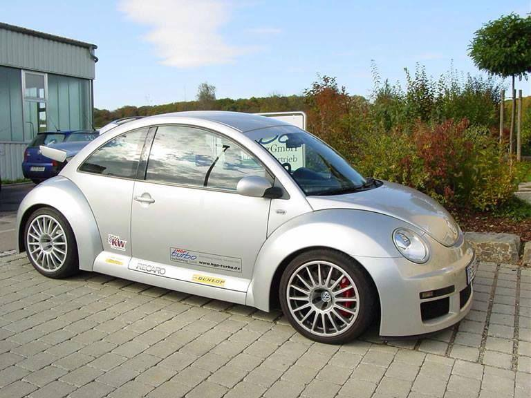 HGP VW New Beetle RSi 3.2 V6 Sondermodell Tuning 20 460 PS im HGP VW New Beetle RSi 3.2 V6 Sondermodell