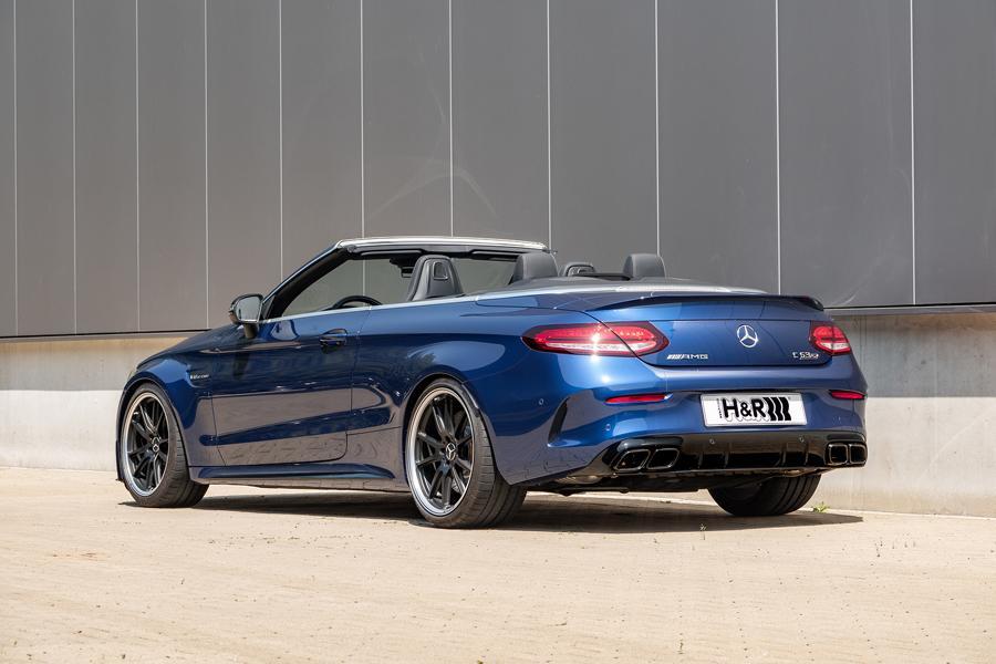 HR Gewindefedern Mercedes C63S AMG 2 Noch mehr Fahrspaß: H&R Gewindefedern für Mercedes C63 / C63S AMG