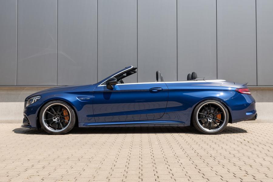HR Gewindefedern Mercedes C63S AMG 3 Noch mehr Fahrspaß: H&R Gewindefedern für Mercedes C63 / C63S AMG