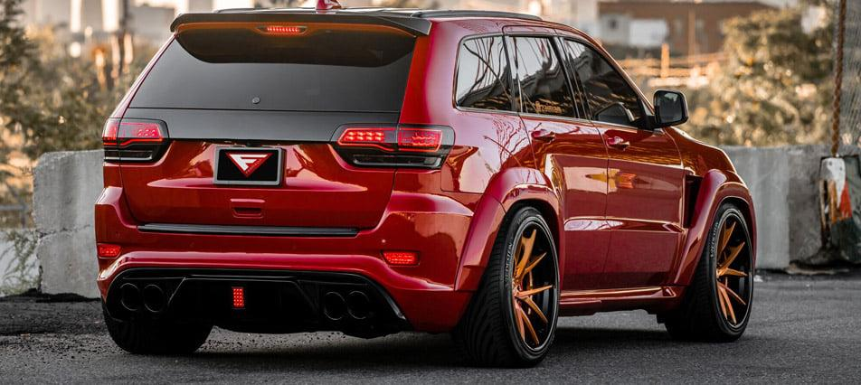 Jeep Grand Cherokee SRT8 Widebody Tuning USF02 Ferrada 11 1.200 PS Jeep Grand Cherokee SRT8 Widebody von Ferrada