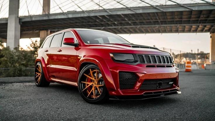 Jeep Grand Cherokee SRT8 Widebody Tuning USF02 Ferrada 6 1.200 PS Jeep Grand Cherokee SRT8 Widebody von Ferrada
