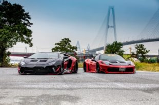 LB Limited Works Lamborghini Aventador Widebody Tuning 6 310x205 Ultrafett   LB★Limited Works Lamborghini Aventador