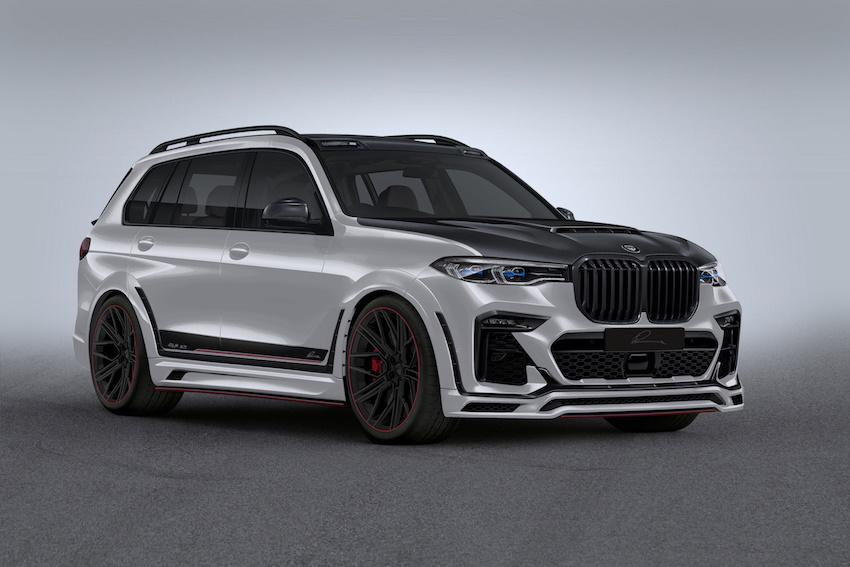 LUMMA CLR X7 Widebody BMW X7 G07 3 Vorschau: 680 PS Widebody LUMMA CLR X7   BMW X7