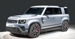 Land Rover Defender SVR BMW V8 Tuning 1 310x165 Mit N63 BMW V8 Power   der Land Rover Defender SVR