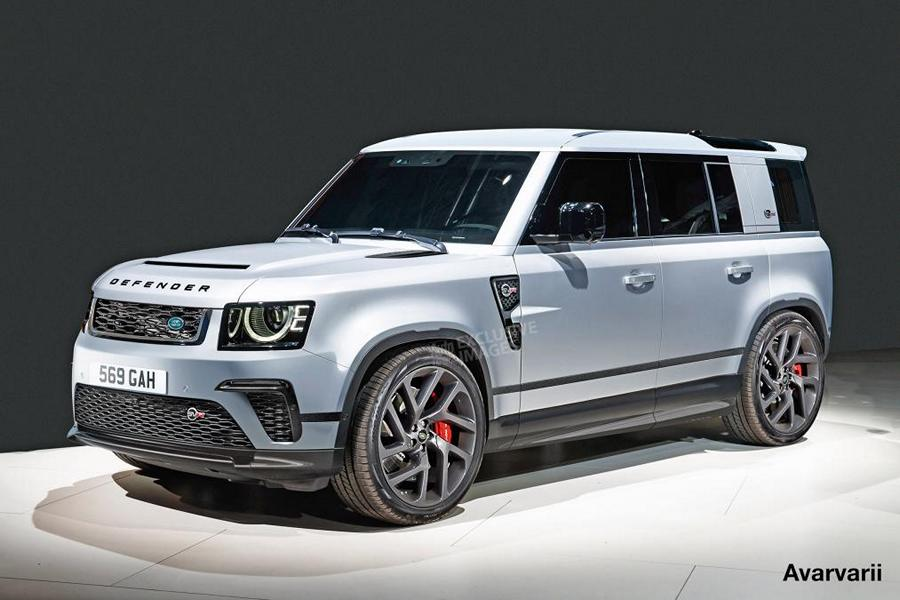 Land Rover Defender SVR BMW V8 Tuning 1 Mit N63 BMW V8 Power   der Land Rover Defender SVR