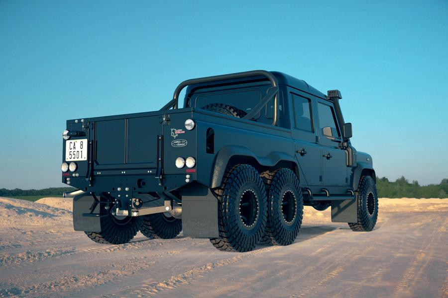 Land Rover Perentie 6x6 Widebody Classic Overland Tuning 10 Land Rover Perentie 6x6 Widebody by Classic Overland