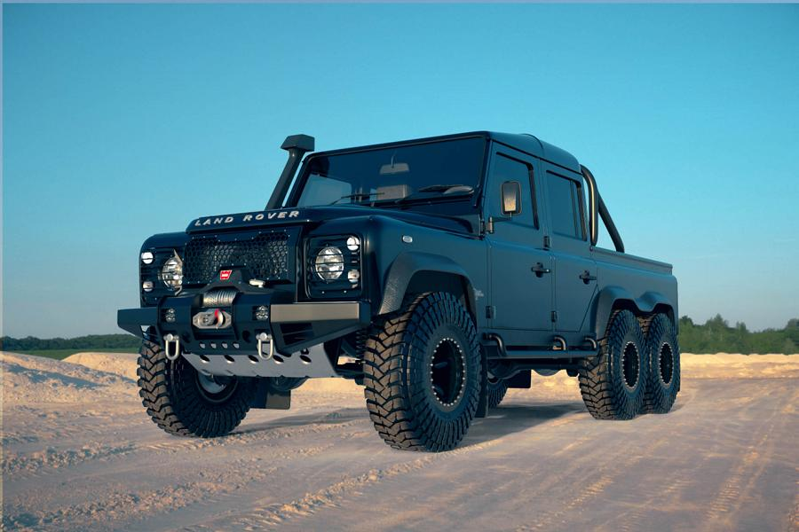 Land Rover Perentie 6x6 Widebody Classic Overland Tuning 11 Land Rover Perentie 6x6 Widebody by Classic Overland