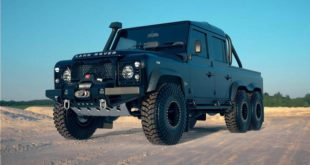 Land Rover Perentie 6x6 Widebody Classic Overland Tuning Header 310x165 Land Rover Perentie 6x6 Widebody by Classic Overland