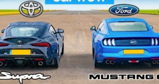 Litchfield Toyota Supra Ford Mustang Dragrace 310x165 Video: Litchfield Toyota Supra (A90) vs. Ford Mustang GT