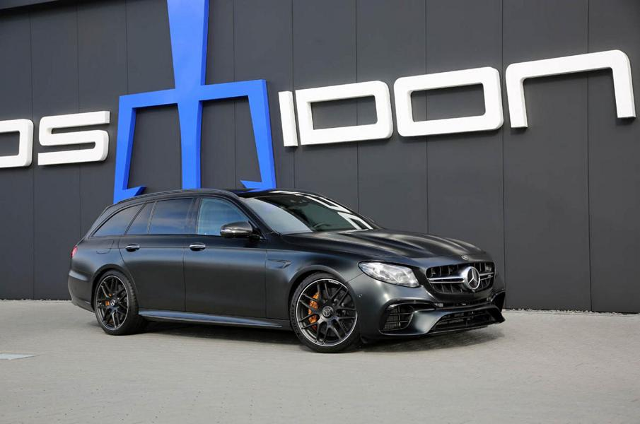 Mercedes E63 S T Modell S213 Posaidon RS 830 Tuning 1 Keine Gegner: Mercedes E63 S T Modell als Posaidon RS 830+
