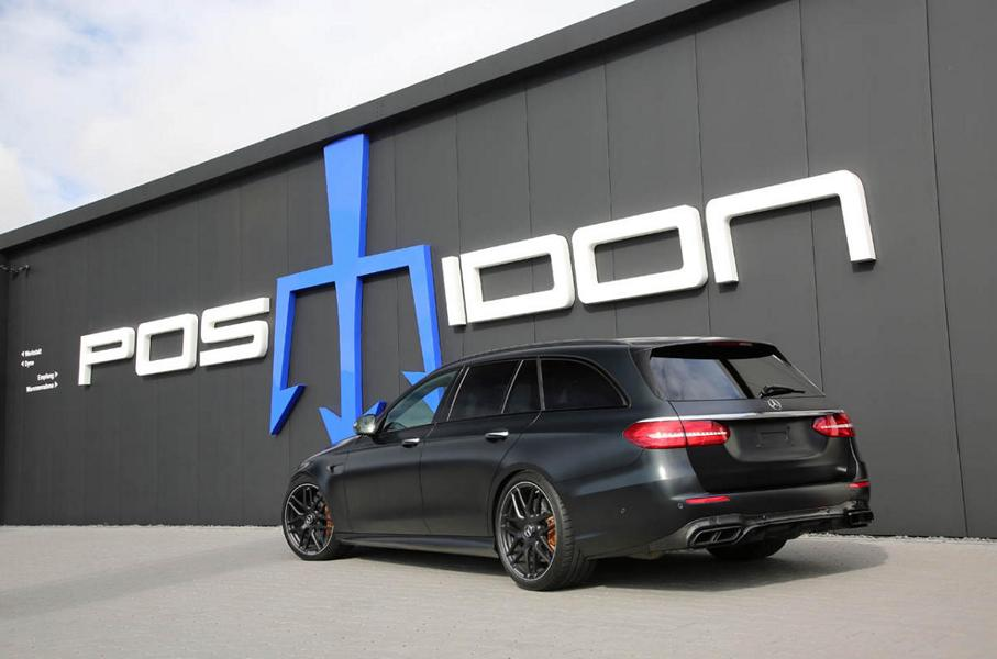 Mercedes E63 S T Modell S213 Posaidon RS 830 Tuning 5 Keine Gegner: Mercedes E63 S T Modell als Posaidon RS 830+