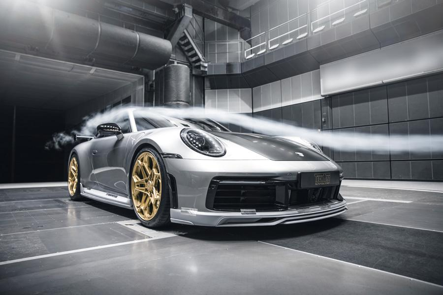Porsche 911 992 Tuning Techart Bodykit 62 Porsche 911 (992) von Tuner Techart mit Bodykit & Co.