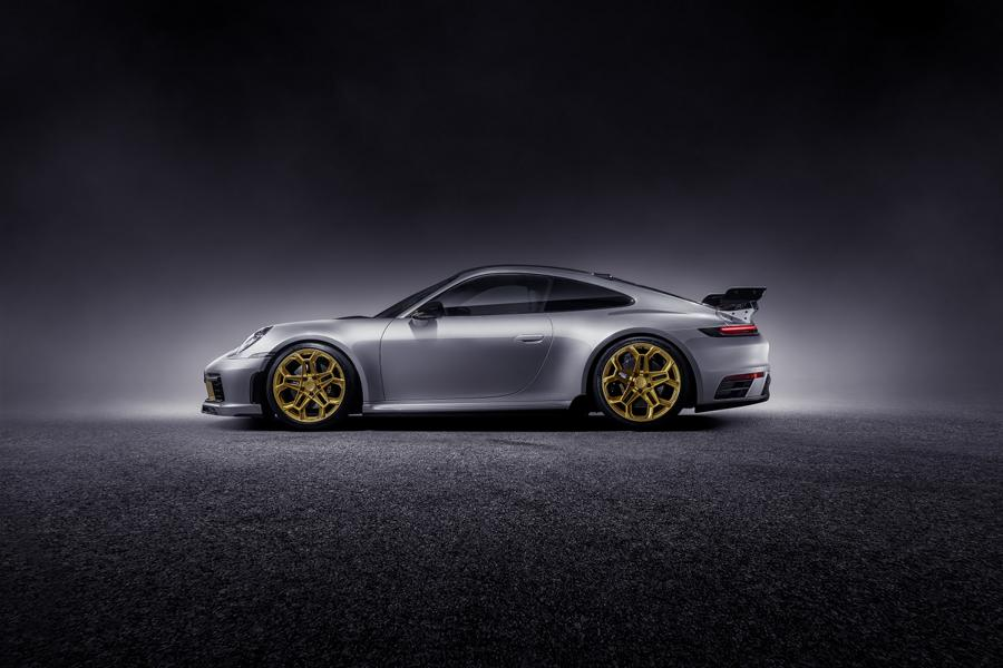 Porsche 911 992 Tuning Techart Bodykit 9 Porsche 911 (992) von Tuner Techart mit Bodykit & Co.