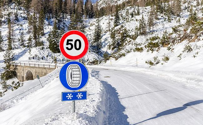 Snow chains top speed This is how your car is ideally equipped for the winter Tips!