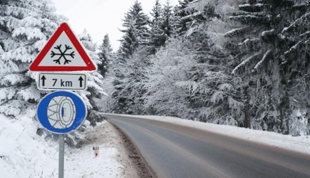 Spike tires Tire spikes Winter tires Tuning 4 What is important for car insurance in winter!