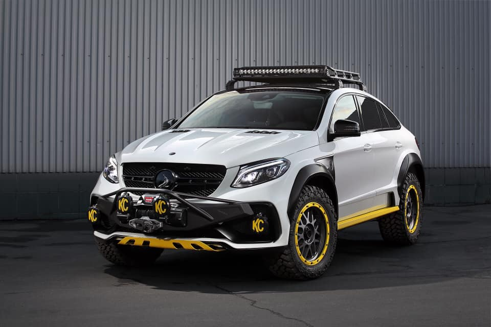 TOPCAR Mercedes GLE Coupe C292 INFERNO 4×4² Tuning 1 Fertig: TOPCAR Mercedes GLE Coupe INFERNO 4×4²