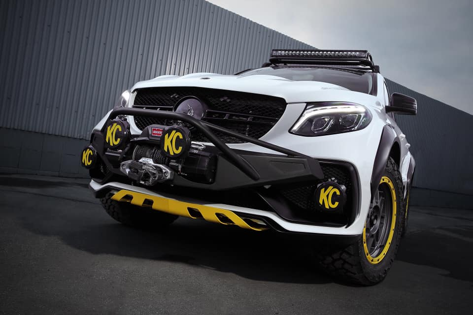 TOPCAR Mercedes GLE Coupe C292 INFERNO 4×4² Tuning 3 Fertig: TOPCAR Mercedes GLE Coupe INFERNO 4×4²