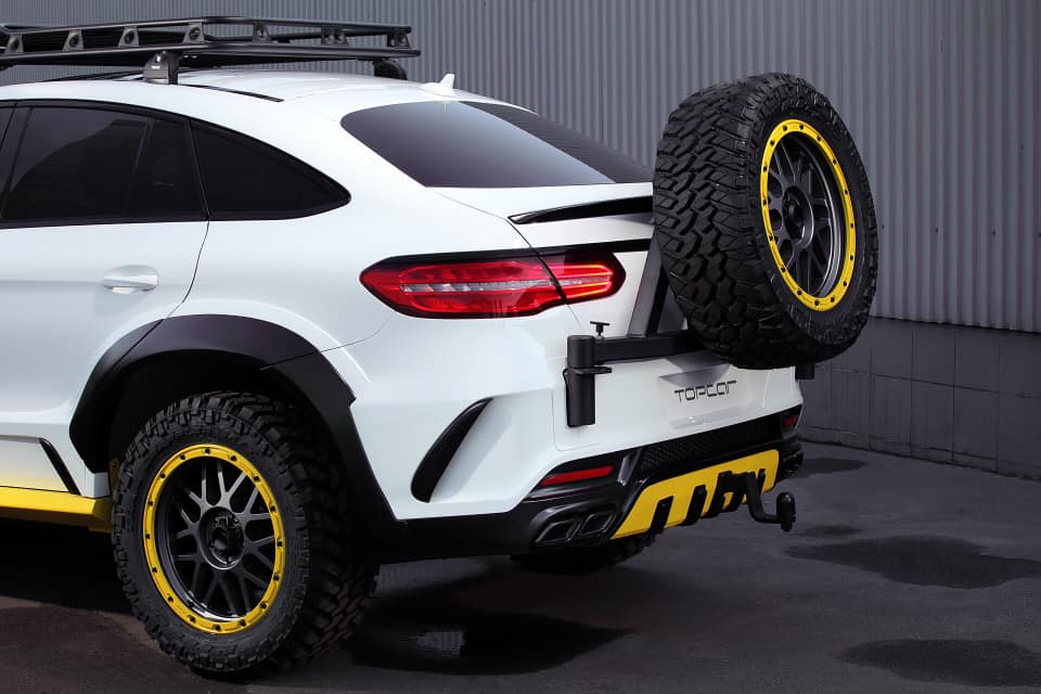 TOPCAR Mercedes GLE Coupe C292 INFERNO 4×4² Tuning 5 Fertig: TOPCAR Mercedes GLE Coupe INFERNO 4×4²