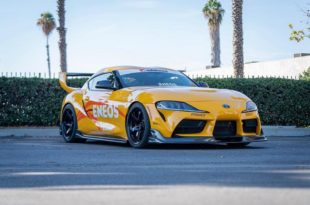 Toyota Supra Fly1 Bodykit Tuning Rays 57CR 4 310x205 Bigger is better... Toyota Supra mit massiven Heckflügel