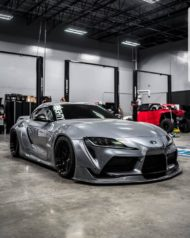 Toyota Supra Pandem V1 1.5 Widebody Kit Tuning SEMA 12 190x238 Fertig: Toyota Supra mit Pandem V1 & 1.5 Widebody Kit