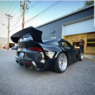 Toyota Supra Pandem V1 1.5 Widebody Kit Tuning SEMA 15 190x190 Fertig: Toyota Supra mit Pandem V1 & 1.5 Widebody Kit