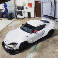 Toyota Supra Pandem V1 1.5 Widebody Kit Tuning SEMA 16 190x190 Fertig: Toyota Supra mit Pandem V1 & 1.5 Widebody Kit