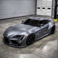 Toyota Supra Pandem V1 1.5 Widebody Kit Tuning SEMA 2 190x190 Fertig: Toyota Supra mit Pandem V1 & 1.5 Widebody Kit