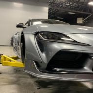 Toyota Supra Pandem V1 1.5 Widebody Kit Tuning SEMA 7 190x190 Fertig: Toyota Supra mit Pandem V1 & 1.5 Widebody Kit
