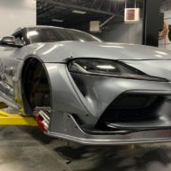 Toyota Supra Pandem V1 1.5 Widebody Kit Tuning SEMA 8 190x190 Fertig: Toyota Supra mit Pandem V1 & 1.5 Widebody Kit