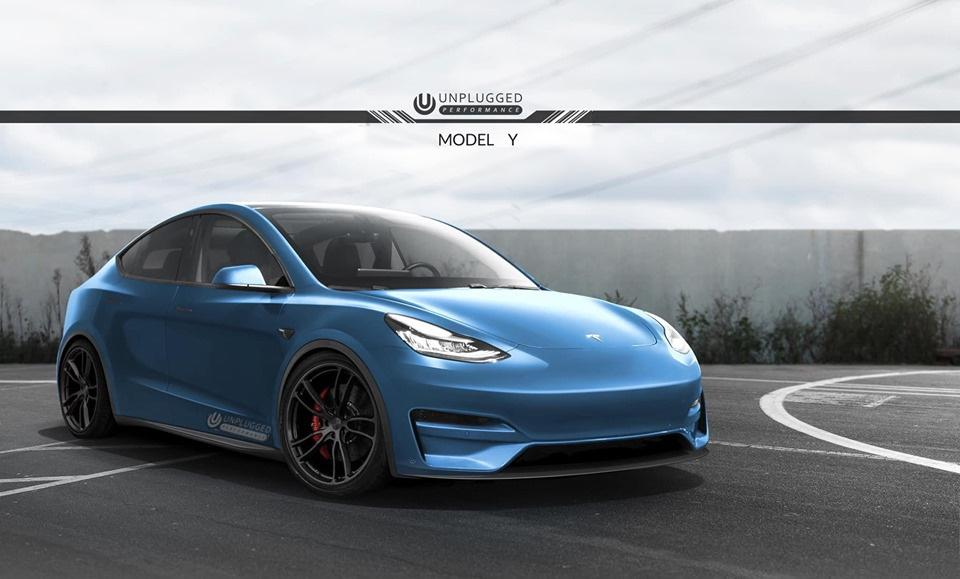 Unplugged Performance Tesla Model Y Bodykit Tuning 2 Vorschau: Unplugged Performance Tesla Model Y Bodykit