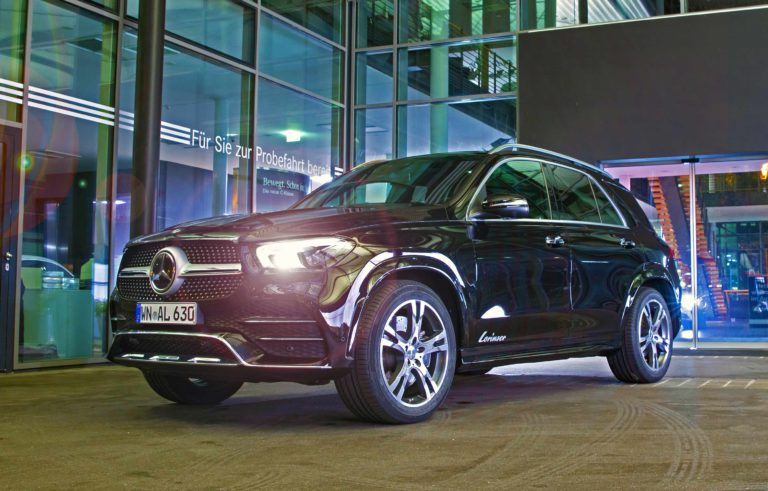 V167 Mercedes GLE 21 Zoll Lorinser RS10 Tuning Dezent   Mercedes GLE auf 21 Zoll Lorinser RS10 Felgen