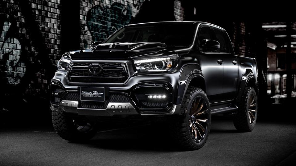 Wald Sports Line Black Bison Edition TOYOTA HILUX Widebody Tuning 3 Get bigger WALD International Bodykit am Toyota Hilux