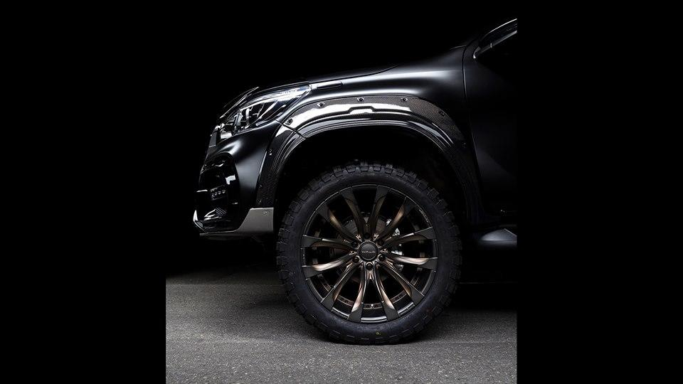 Wald Sports Line Black Bison Edition TOYOTA HILUX Widebody Tuning 5 Get bigger   WALD International Bodykit am Toyota Hilux