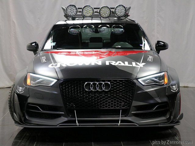 Widebody APR Audi S3 Limousine Forgestar APR Tuning 10 Widebody APR Audi S3r Limousine auf Forgestar Felgen