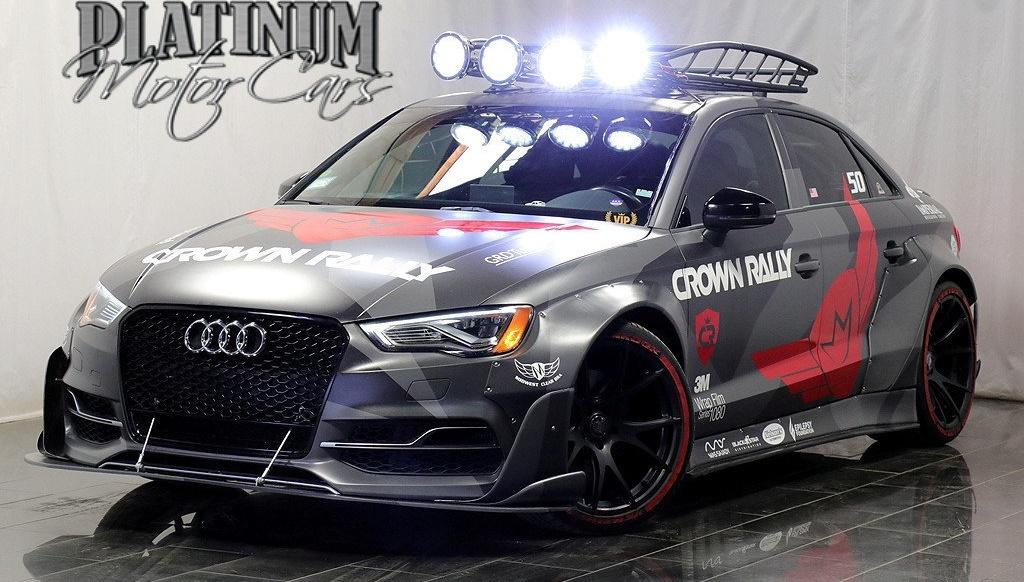 Widebody APR Audi S3 Limousine Forgestar APR Tuning Header Widebody APR Audi S3r Limousine auf Forgestar Felgen
