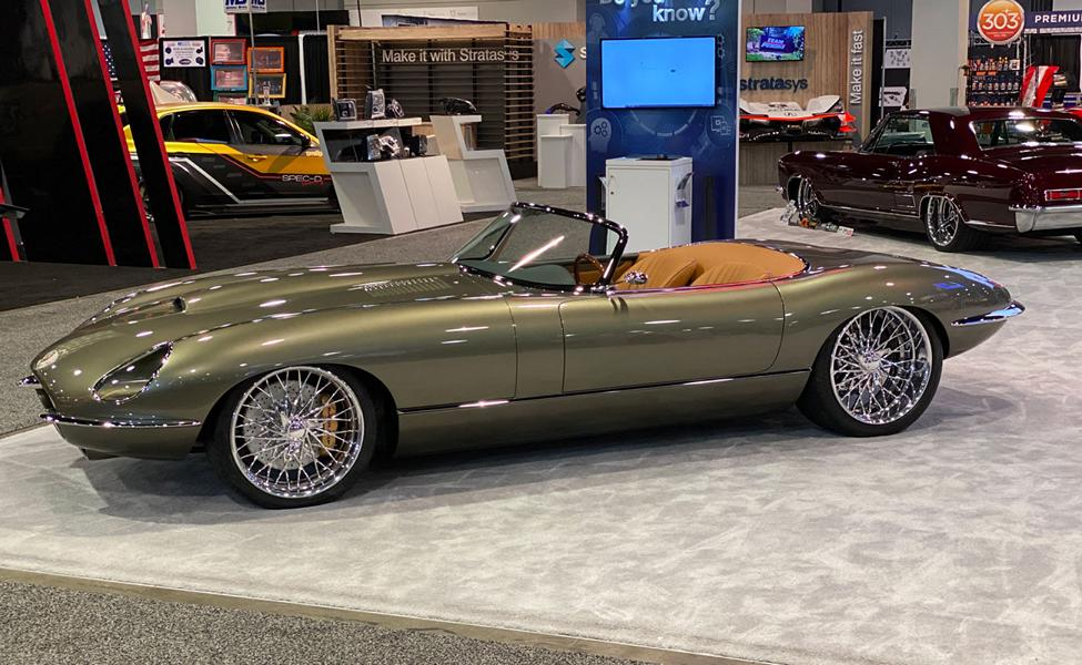 1974 Jaguar E Type Roadster Restomod Chip Foose Tuning 32 Restomod   Jaguar E Type Roadster von C. Foose Design Inc.