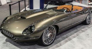 1974 Jaguar E Type Roadster Restomod Chip Foose Tuning Header 310x165 Restomod Mercedes G Klasse Wolf (250GD) von EMC